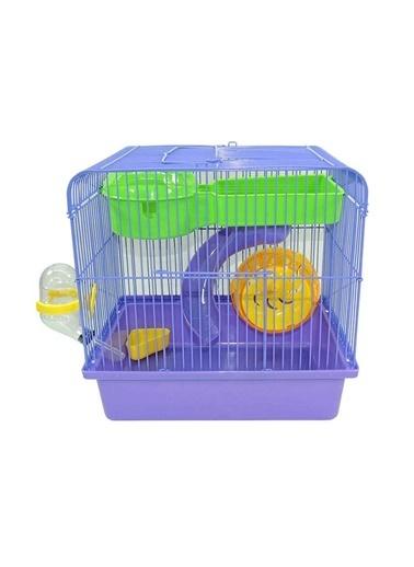 Hector 843 Hamster Kafesi 33X22X50 Cm. Renksiz